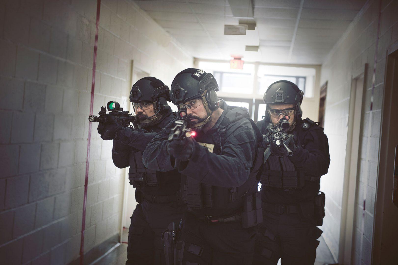 Soldiers Wearing NP Aerospace Helmets