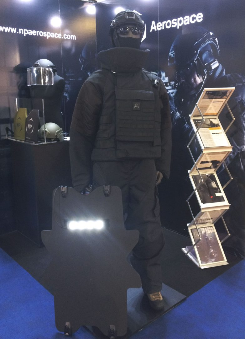 NP Aerospace Milipol 2019 Shield
