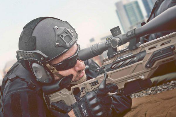 Sniper Wearing AC915 Helmet
